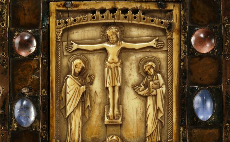 Das Dommuseum Hildesheim zeigt große Werke mittelalterlicher Kunst