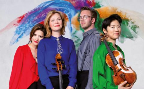 Flex Ensemble Klavierquartett, Foto: Tim Klöcker
