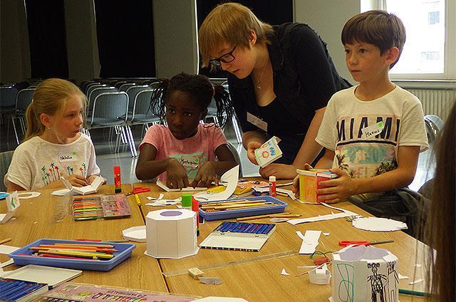 Ferienaktion für Kinder im Hildesheimer Dommuseum