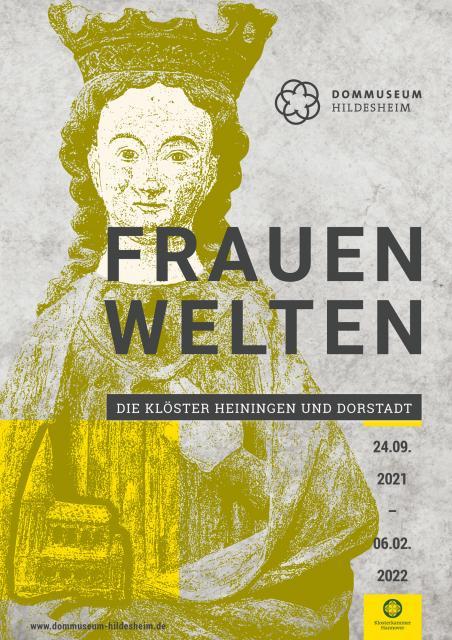"""Plakat zur Ausstellung """"Frauenwelten"""""""