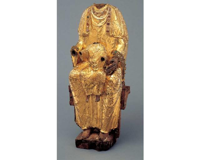 Large Golden Madonna | Hildesheim Cathedral Treasure