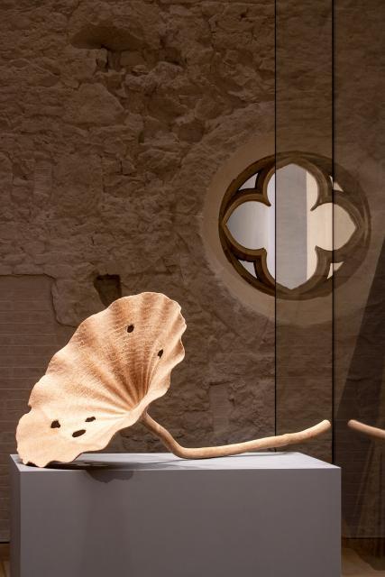 """Ansicht der Ausstellung """"Leere und Form"""""""