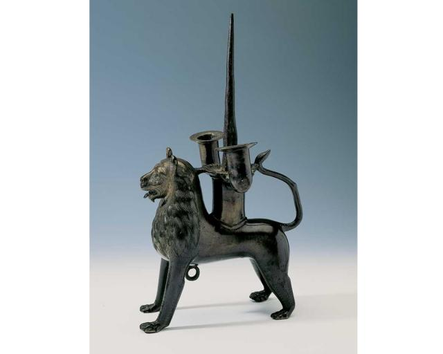 Lion Pricket Candleholder | Hildesheim Cathedral Treasure