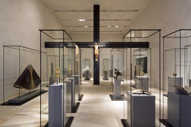 Rittersaal des Hildesheimer Dommuseums.