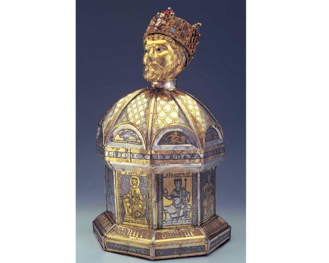 Head Reliquary of St. Oswald | Hildesheim Cathedral Treasure