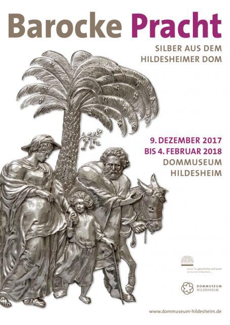 Plakat zur Ausstellung Barocke Pracht