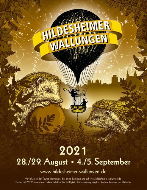 Plakat Wallungen 2021