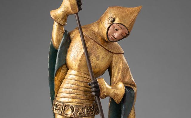 Hl. Georg - Drachentöter; ©Dommuseum Hildesheim, Foto: Stephan Kube
